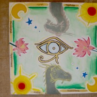 "Ruby Pritchard & Celina Mack [Year 6] - ""Eye of the Dragon""  WINNER OF PRIMARY SCHOOL CATEGORY"